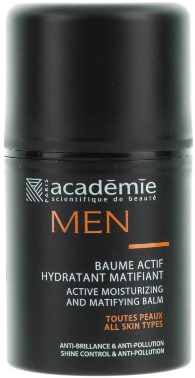 Feuchtigkeitsspendender und mattierender Aktiv-Balsam - Academie Men Active Moist & Matifying Balm — Bild N1