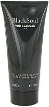 Düfte, Parfümerie und Kosmetik Ted Lapidus Black Soul - After Shave Balsam