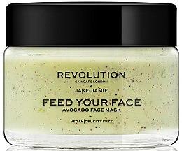 Düfte, Parfümerie und Kosmetik Glättende und feuchtigkeitsspendende Peelingmaske für das Gesicht mit Avocadoöl - Revolution Skincare Avocado Face Mask