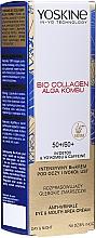 Düfte, Parfümerie und Kosmetik Augen- und Mundcreme gegen Falten - Yoskine Bio Collagen Alga Kombu Eye & Mouth Area Cream 50 +/60 +