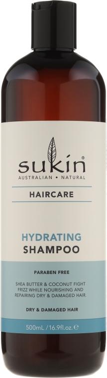 Feuchtigkeitsspendendes Shampoo für trockenes und strapaziertes Haar - Sukin Hydrating Shampoo