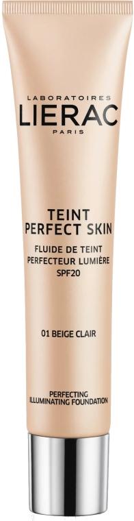 Illuminierende Foundation LSF 20 - Lierac Teint Perfect Skin Illuminating Fluid SPF20