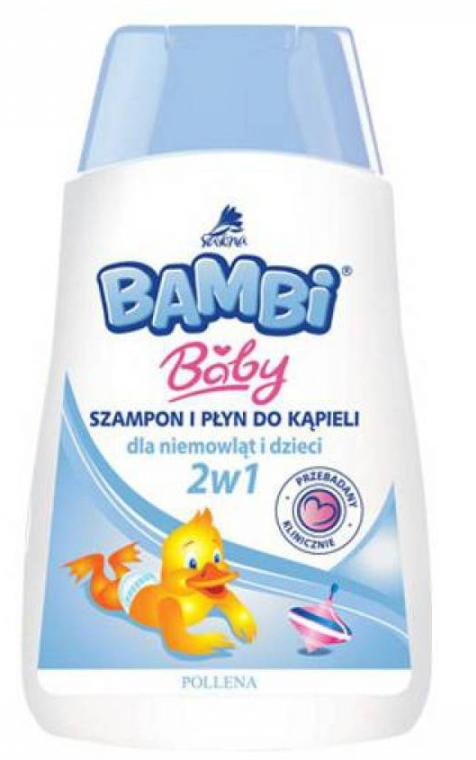 2in1 Shampoo und Duschgel für Babys und Kinder - Pollena Savona Bambi 2in1 Shampoo & Shower Gel