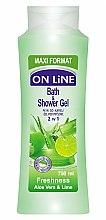 Düfte, Parfümerie und Kosmetik Duschgel - On Line Freshness Bath & Shower Gel