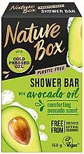 Düfte, Parfümerie und Kosmetik Feste Naturseife mit Avokadoöl - Nature Box Avocado Oil Shower Bar