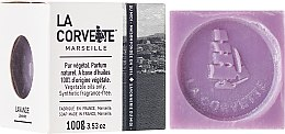 Düfte, Parfümerie und Kosmetik Naturseife Lavender - La Corvette Cube of Provence Lavender Scented Soap