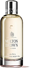 Düfte, Parfümerie und Kosmetik Molton Brown Suede Orris Enveloping Body Oil - Feuchtigkeitsspendendes Körperöl mit Argan