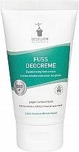 Düfte, Parfümerie und Kosmetik Erfrischende Fußcreme gegen Schweißfüße - Bioturm Deodorant Cream for Feet Nr.80