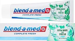 """Düfte, Parfümerie und Kosmetik Zahnpasta """"All In One Protection"""" - Blend-a-med Complete Fresh Extra White & Fresh"""