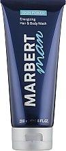 Düfte, Parfümerie und Kosmetik Belebendes Duschgel für Körper und Haar - Marbert Man Skin Power Hair & Body Wash