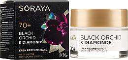 Düfte, Parfümerie und Kosmetik Regenerierende Gesichtscreme 70+ - Soraya Black Orchid & Diamonds 70+ Regenerating Cream