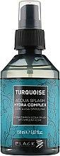 Düfte, Parfümerie und Kosmetik Leichter Haarnebel mit Spirulina-Algen - Black Professional Line Turquoise Hydra Complex Aqua Splash