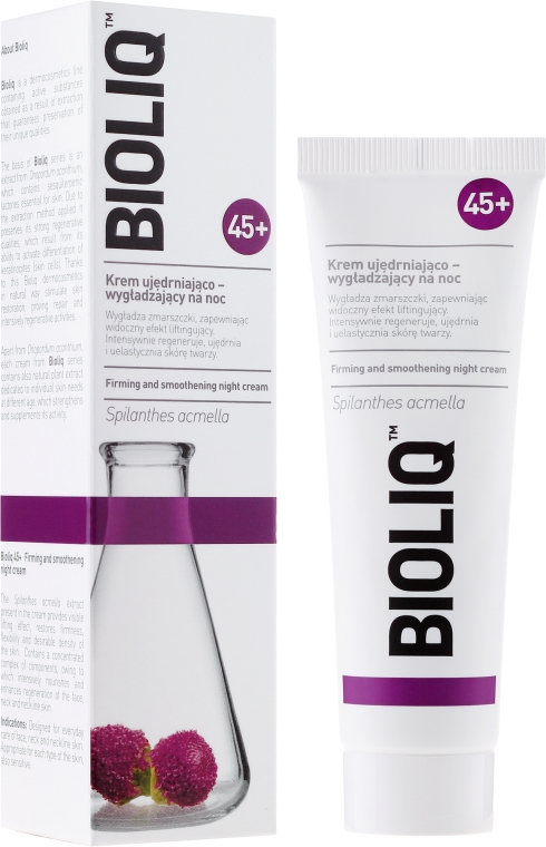 Straffende und glättende Nachtcreme 45+ - Bioliq 45+ Firming And Smoothing Night Cream