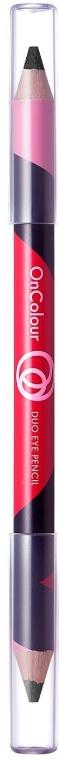 Doppelseitiger Kajalstift - Oriflame On Color Duo Eye Pencil