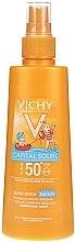 Düfte, Parfümerie und Kosmetik Sonnenschutzspray für Kinder SPF 50+ - Vichy Capital Soleil Spray Douceur Enfants SPF50+