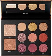 Düfte, Parfümerie und Kosmetik Make-up Palette - Milani Gilded Ember Hyper-Pigmented Eye & Face Palette