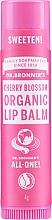 Düfte, Parfümerie und Kosmetik Bio Lippenbalsam mit Kirschblütenduft - Dr. Bronner's All-One! Cherry Blossom Organic Lip Balm