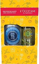 Düfte, Parfümerie und Kosmetik Badeset - L'Occitane Shea Shower Duo (Duschschaum 200ml + Badeschaum 500ml)