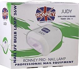 Düfte, Parfümerie und Kosmetik UV-Lampe für Nageldesign rot - Ronney Profesional Judy UV 36W (GY-UV-230) Lamp