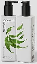 Düfte, Parfümerie und Kosmetik Pflegende Hand- und Körperlotion mit Grüntee und Zitrone - Kinetics Green Tea & Lemon Lotion