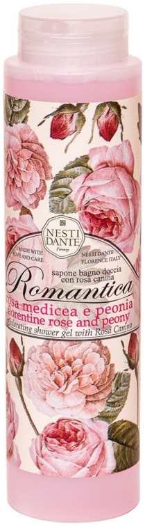 Duschgel Florentine Rose & Peony - Nesti Dante Shower Gel Romantica Collection