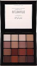 Düfte, Parfümerie und Kosmetik Lidschattenpalette - NYX Professional Makeup NYXUltimate Shadow Palette