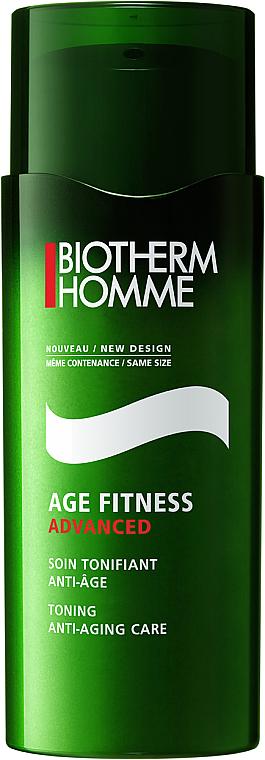 Verjüngende Gesichtscreme für Männer - Biotherm Age Fitness Advanced Activ Anti-Aging Care — Bild N1