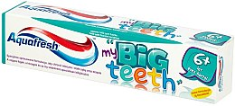 Düfte, Parfümerie und Kosmetik Kinderzahnpasta 6+ Jahre My Big Teeth - Aquafresh Junior