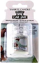 Düfte, Parfümerie und Kosmetik Auto-Lufterfrischer Shea Butter - Yankee Candle Car Jar Ultimate Shea Butter