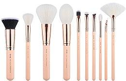 Düfte, Parfümerie und Kosmetik Make-up Pinselset T450 10 St. - Jessup