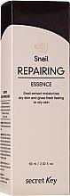 Düfte, Parfümerie und Kosmetik Regenerierende Gesichtsessenz mit Schneckenextrakt - Secret Key Snail+EGF Repairing Essence