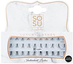Düfte, Parfümerie und Kosmetik Wimpernbüschel-Set - Sosu by SJ Individual 3D Luxury Fibre Lashes