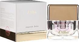 Düfte, Parfümerie und Kosmetik Aufhellende Gesichtscreme mit weißem Trüffel - D'Alba Ampoule Balm White Truffle Whitening Cream