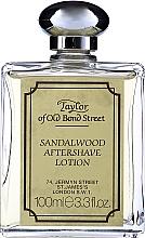 Düfte, Parfümerie und Kosmetik Taylor Of Old Bond Street Sandalwood Aftershave Lotion Alcohol-Based - After Shave Lotion Sandelholz