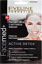 Düfte, Parfümerie und Kosmetik Aktivkohle-Gesichtsmaske - Eveline Cosmetics Facemed+