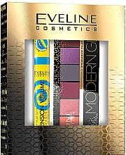 Düfte, Parfümerie und Kosmetik Make-up Set (Mascara 10ml + Lidschatten-Palette 9.6g) - Eveline Cosmetics Modern Glam Push Up