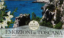 Düfte, Parfümerie und Kosmetik Naturseife Mediterannean Touch - Nesti Dante Natural Soap Emozioni in Toscana Collection