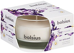 Düfte, Parfümerie und Kosmetik Duftglas Lavendel & Kamille - Bolsius True Moods Collection So Relaxed Candle 50 mm x Ø80 mm