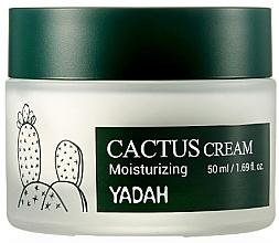 Düfte, Parfümerie und Kosmetik Feuchtigkeitsspendende Gesichtscreme mit Kaktusextrakt - Yadah Moisturizing Cactus Cream