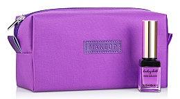 Düfte, Parfümerie und Kosmetik Kosmetiktasche Girl's Travel violett (ohne Inhalt) - MakeUp B:18 x H:9 x T:6 cm
