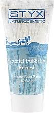 Düfte, Parfümerie und Kosmetik Erfrischender Kartoffel-Fußbalsam mit Salbei und Rosskastanie - Styx Naturcosmetic Potato Care Foot Balm Refresh