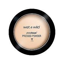 Düfte, Parfümerie und Kosmetik Matter Gesichtspuder - Wet N Wild Photofocus Pressed Powder