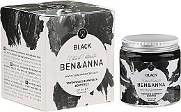 Düfte, Parfümerie und Kosmetik Natürliche schwarze Zahnpasta - Ben & Anna Natural Black Toothpaste