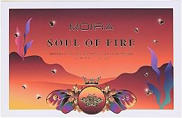 Düfte, Parfümerie und Kosmetik Lidschattenpalette - Moira Soul of Fire Shadow Palette