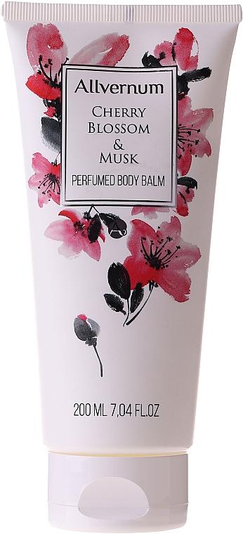 Parfümierter Körperbalsam mit Kirschblüte und Moschus - Allverne Cherry Bloosom & Musk