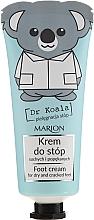 Düfte, Parfümerie und Kosmetik Fußcreme für trockene und rissige Fersen - Marion Dr Koala Foot Cream