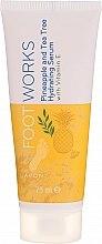 Düfte, Parfümerie und Kosmetik Feuchtigkeitsspendendes Fußserum mit Vitamin E - Avon Foot Works Hydrating Serum