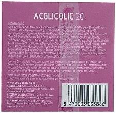 Nährende Anti-Aging Nachtcreme mit Glykolsäure - SesDerma Laboratories Acglicolic 20 Nourishing Cream — Bild N2