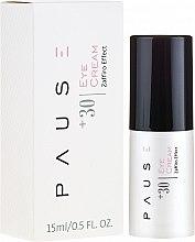 Düfte, Parfümerie und Kosmetik Pflegende Creme für die Augenpartie 30+ - Pause 30+ Under-Eye Cream