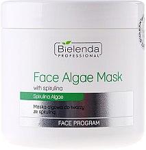 Düfte, Parfümerie und Kosmetik Algen-Gesichtsmaske mit Spirulina - Bielenda Professional Algae Spirulina Face Mask